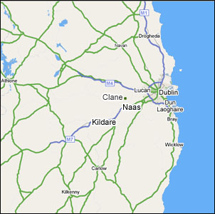 Clane is easily accessible from all areas of Ireland