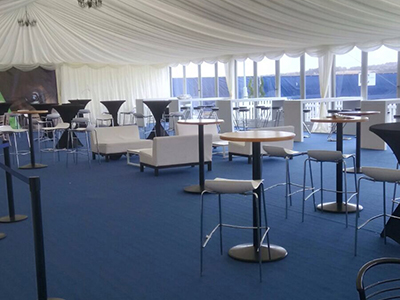 Naas Event Marquee Interior